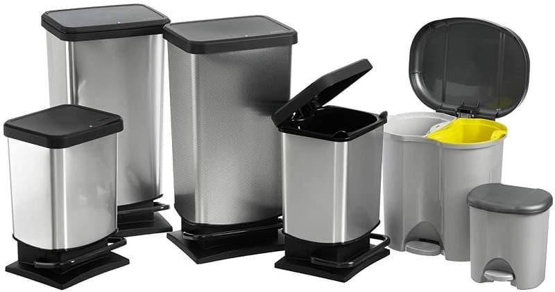 comprar cubos de basura con tapa y pedal