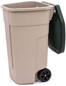 contenedores de basura exteriores