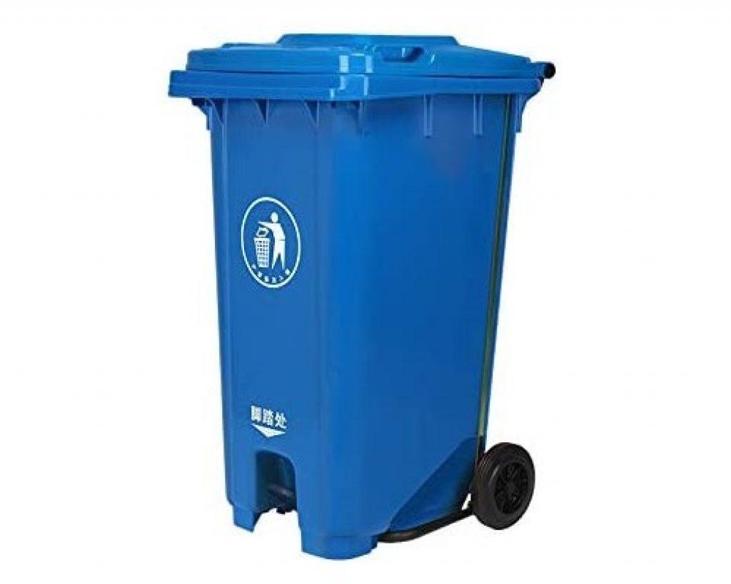 cubo de basura grande