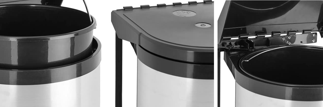 cubos de basura tapa automatica