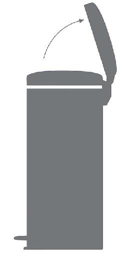cubos de basura tapa basculante