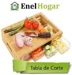 Tabla Cortar Fruta Tupperware